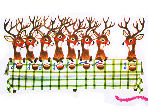 Reindeer Last Supper