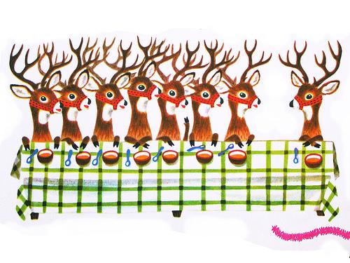 Reindeer Last Supper