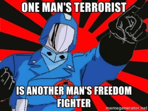 cobra commander freedom fighter