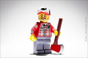 lego lumberjack