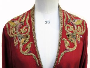 Game of Thrones Cersei Red Bird Embroidery by Michele Carragher