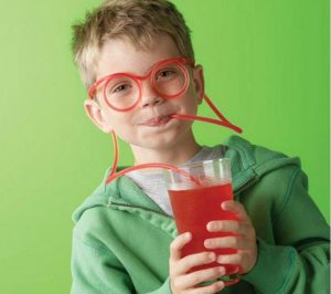 bendy straw glasses