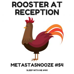 rooster-atreception