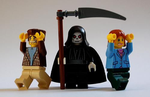 death as lego