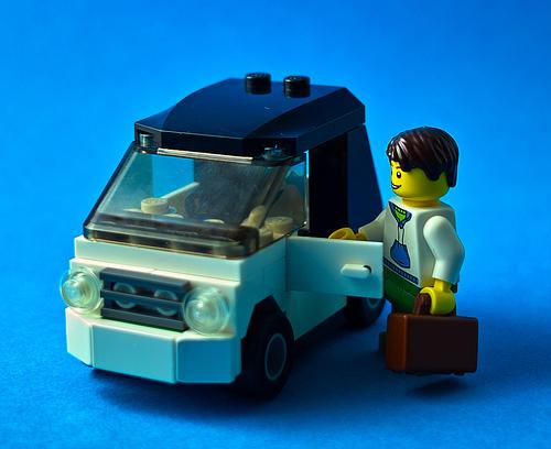lego electric car