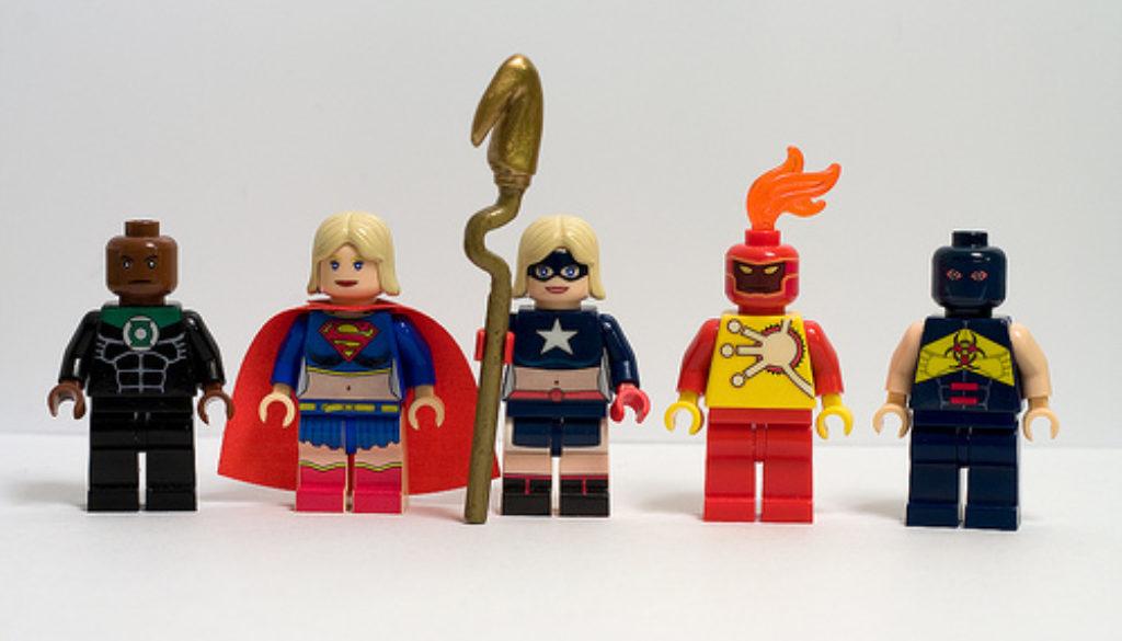 Lego Heroes to help you sleep