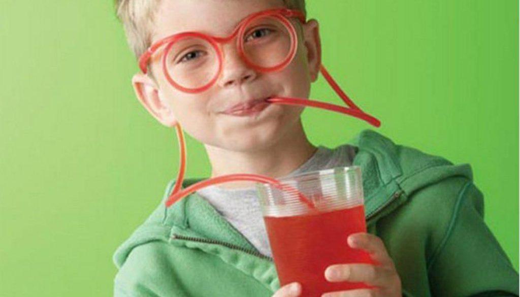 bendy straw glasses