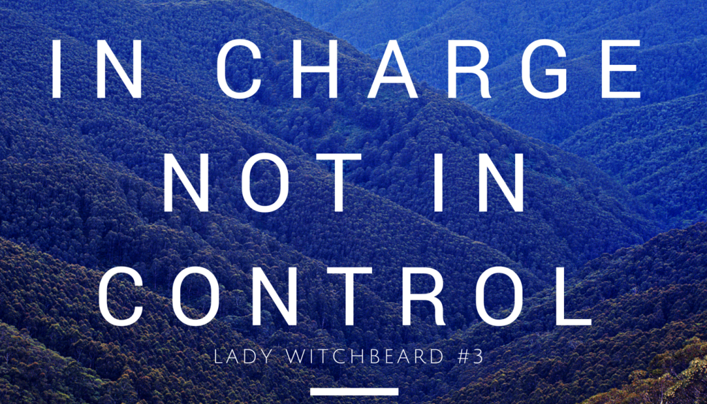 In Charge not in control