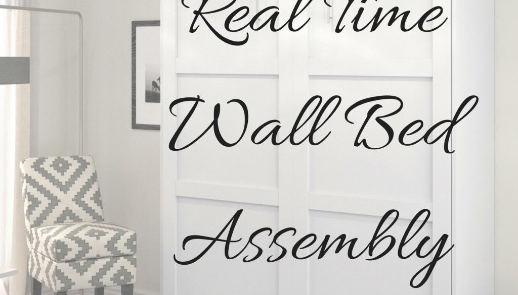 Realtime Wall Bed Assembly | Sleep With Me #433