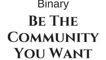 bethecommunityyou-wanttosee